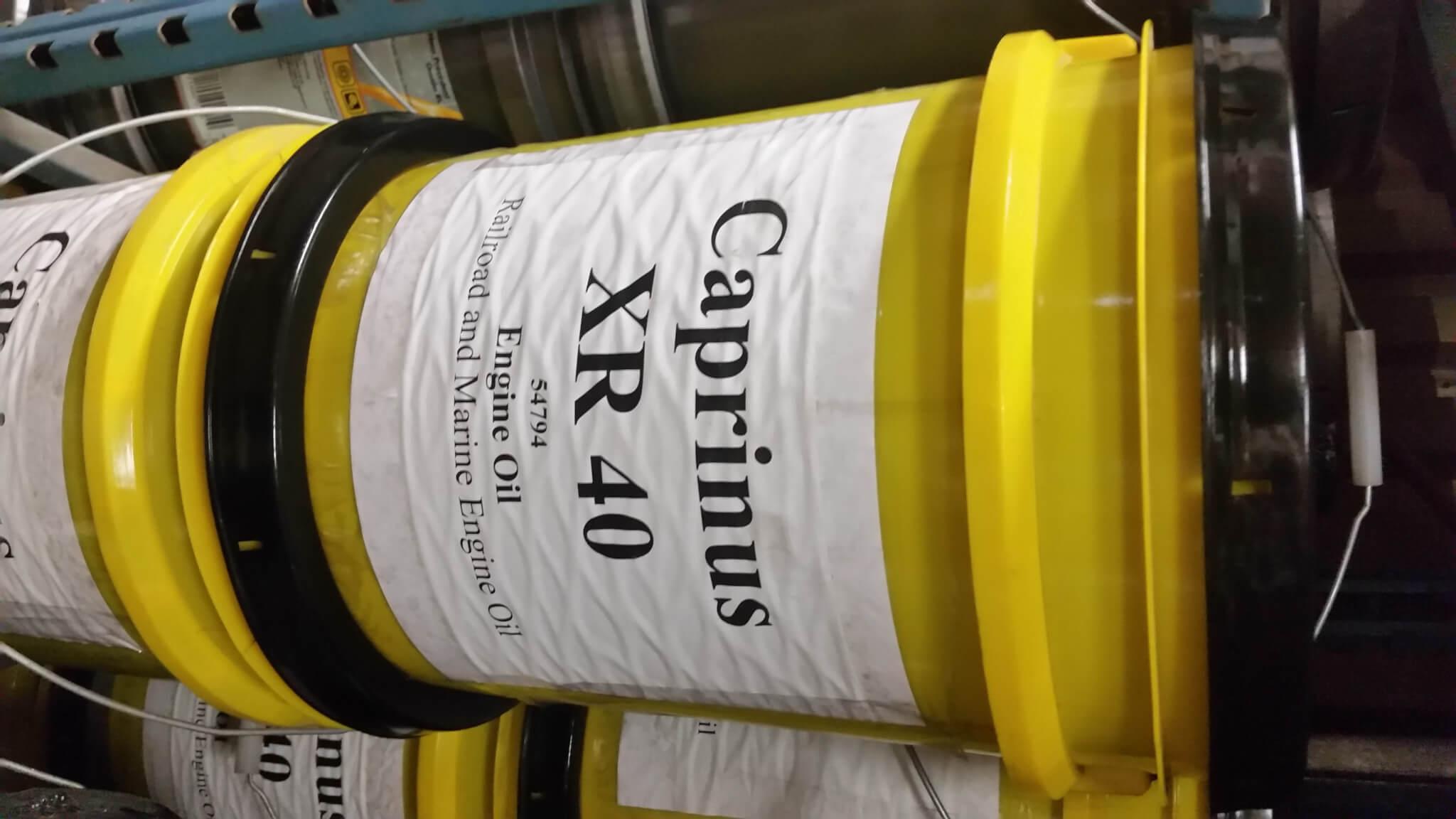 Caprinus XR 40 Railroad and Marine Engine Oil